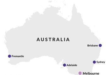 Australian Shipping Sea Ports