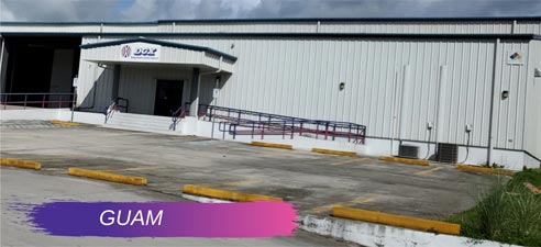 DGX's Guam warehouse