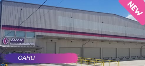 DGX's Honolulu, Oahu warehouse