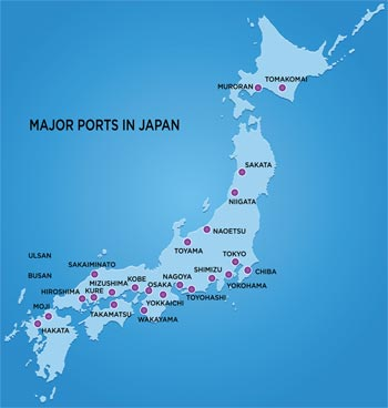 Japan port map - DGX blog